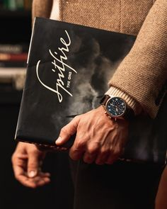 """The Pilot's Watch Perpetual Calendar Chronograph Edition """"Le Petit Prince"""" is the first Pilot's Watch from IWC to combine the perpetual calendar and chronograph functions. Iwc Chronograph, Iwc Pilot, Man Photography, Its A Mans World, Elegant Man, Perpetual Calendar, One Pilots, Mens Fashion, Watches"""