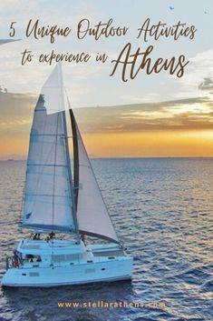 Create unforgettable memories with those 5 outdoor easy to do activities while visiting Athens and Greece. Greece Itinerary, Greece Travel, Top Travel Destinations, Europe Travel Guide, European Vacation, European Travel, Water Activities, Outdoor Activities, Mountainous Terrain
