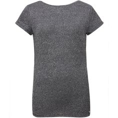 Ted Baker Misy Sparkle T-shirt (91 CAD) ❤ liked on Polyvore featuring tops, t-shirts, grey, women, sparkle t shirts, grey top, short sleeve tops, grey tee and round neck t shirt