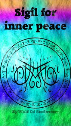 Sigil for inner peace