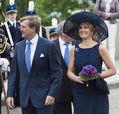 Queen Maxima - The Dutch Royal Family Continue Their Coronation Tour