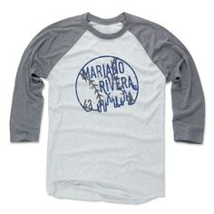 Men's Mariano Rivera Skyball Baseball T-Shirt from 500 LEVEL. This Mariano Rivera Baseball T-Shirt comes in multiple sizes and colors.