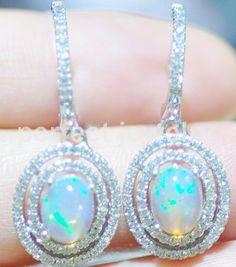 Popular Natural Opal Earrings-Buy Cheap Natural Opal Earrings lots ...
