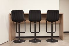 These are the backs of the #Dragonfly swivel stools. An innovated touch of design for your working space.
