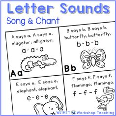 Teach letter sounds and phonics using these letter sounds videos and lessons. Lots of ideas to teach letter sounds in kindergarten or first grade. Tips for Teaching Letter Sounds - Whimsy Workshop Teaching Preschool Phonics, Phonics Lessons, Teaching Phonics, Kindergarten Learning, Preschool Letters, Teaching Reading, Letters Kindergarten, Teach Preschool, Jolly Phonics