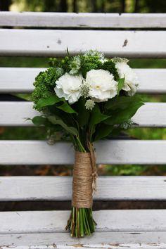 Свадебный букет в стиле рустик,свадьба так и кричала натуральными красками,свежестью и жизнью!, Свадебное оформление и флористика, Букет невесты