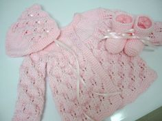 Hey, I found this really awesome Etsy listing at https://www.etsy.com/listing/161217693/hand-knitted-baby-girl-pink-sweater