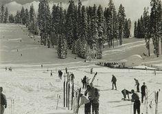 Ansel Adams American, 1902-1984 Snow Scene circa