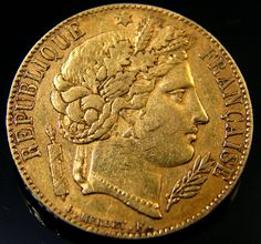 The price of gold for jewelry is an interesting question. Obviously, it will depend a lot on the current spot price for gold bullion. Many people have legitimate questions about gold prices such as how do you determine the cost of gold jewelry? Gold Cost, Gold Price, Old Coins, Rare Coins, French Coins, Gold Bullion Bars, Coin Auctions, Eagle Design, Gold Tips