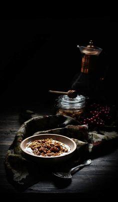 Oatgasm: Rosemary, Honey, Walnut, and Dried Fig Granola