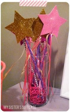 Fairy Wands-pixie and pirate party