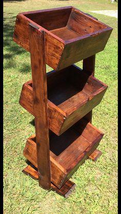 Vintage 5 Tier Stair Step Wood Plant Display Stand Ebay