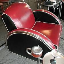 Image result for art deco club chairs