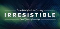 Read a simple 6-point email campaign via http://newsmix.me