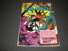 Charlton Marine War Heroes 4 Charlton Comics 1964 by HeroesRealm, $3.99  Just listed for sale @https://www.etsy.com/shop/HeroesRealm