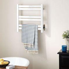 "20"" Brenton Hardwired Towel Warmer Brushed Stainless Steel $189.00"