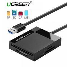 Memory Cards & SSD Ugreen All In One Usb Card Reader Sd Tf Cf Ms Micro Sd Smart Card Reader For Samsung Sandisk .t-product {background-color: 0 auto; Computer Repair, Gaming Computer, Usb, Samsung, How To Read Faster, Shipping Packaging, Card Reader, Sd Card, High Speed