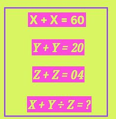 Math logic puzzle for teens