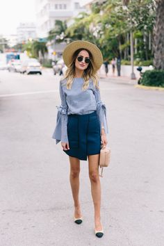 Classic spring outfit