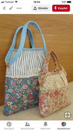 Erinnert mich an Alice Bag - Bag Pattern Free, Bag Patterns To Sew, Patchwork Bags, Quilted Bag, Crazy Patchwork, Patchwork Designs, Alice Bag, Denim Bag, Fabric Bags