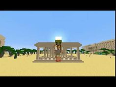 Minecraft | Ep 45 Ramsès II | Oprhea casse, temples, fresques,