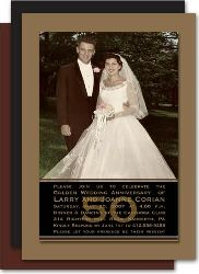 Free Printable 50th Wedding Anniversary Invitations - The Wedding Specialists