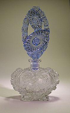 Antique Scent Bottle Crystal