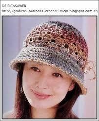 Resultado de imagen para boinas en crochet