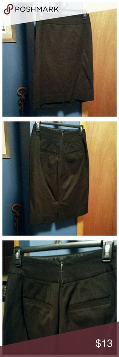 Banana Republic black pencil skirt In brand new condition. Small slit in the back. Zipper closure in the back. Two pockets in the back as well. Banana Republic Skirts Pencil