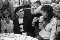 Groucho Marx and Alice Cooper | Rare, weird & awesome celebrity photos