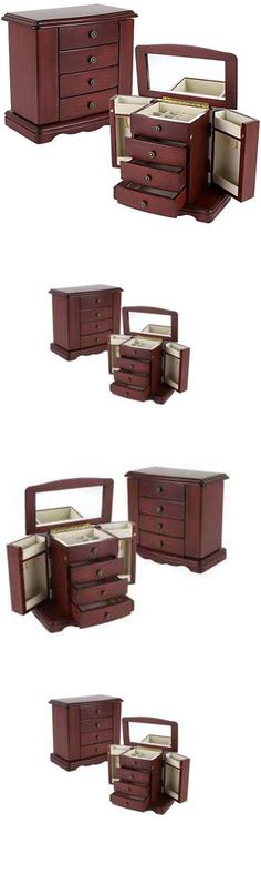 Jewelry Boxes 3820 Jewelry Armoire Box Chest Stand 300 Piece