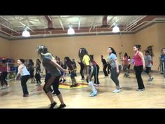 HOTROCKFITNESS ZUMBA - Floor On Fire