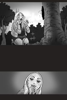 Silent Horror :: Wishing Tree | Tapas - image 6