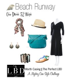 The Perfect LBD | Styled 52 Ways | #4 Beach Runway