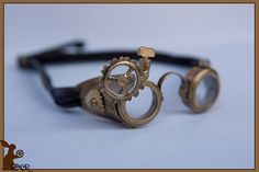 how to: mini steampunk goggles