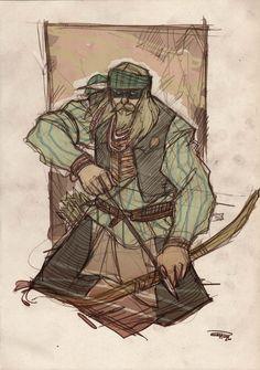 Artista italiano, Denis Medri, cria versão de Liga da Justiça no Velho Oeste. Os traços característicos do desenhista deram um ar incrível à galeria!