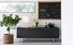 HORIZON wooden sideboard - Calligaris CS/6017-1A