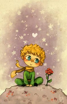 Le Petit Prince by Chibi-Joey on DeviantArt Little Prince Quotes, The Little Prince, Tumblr Wallpaper, Iphone Wallpaper, Le Petit Prince Film, Princesse Disney Swag, Prince Drawing, Illustration Art, Illustrations