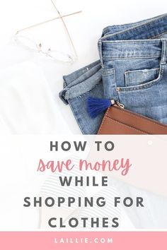 Learn 11 ways to save money while shopping. With these 11 methods and tricks you are guaranteed to save money while shopping for clothing and accessories. It is unnecessary to overpay for items if you can purchase them for less. You may want to save money while shopping to budget your finances. Learn how to save money while shopping to budget your finances. Personal Finance, Personal Style, Basic Outfits, Make A Wish, Ways To Save Money, Retail Therapy, Cool Eyes, Clothing Items, Types Of Fashion Styles