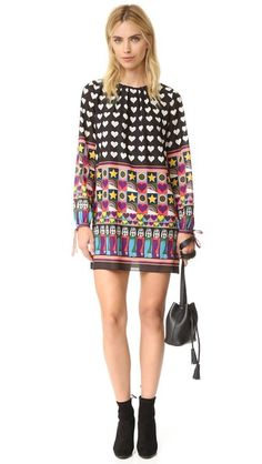 Anna Sui All You Need Is Love Dress