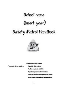 I have been a Safety Patrol Sponsor for a few years now and have always been trying to  put together a truly organized organization for my school. I have put together a handbook for all of my student patrols. It includes everything related to their new position, including an overview of the organization, the expectations for them academically and behaviorally, assigned posts and the requirements of them, the merit and demerit system, and a student and parent agreement.I worked really hard on…