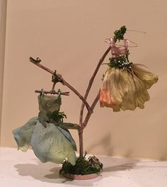 Fairy's Work by Olive Miniatures Dress by OliveNatureFolklore