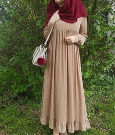 69 trendy how to dress boho chic fashion Hijab Elegante, Hijab Chic, Hijab Style Dress, Boho Dress, Islamic Fashion, Muslim Fashion, Niqab Fashion, Fashion Dresses, Estilo Abaya
