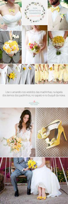 guia definitivo de casamento amarelo