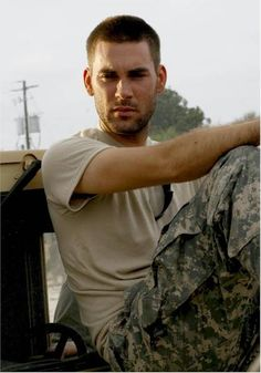 Drew Fuller (Army Wives) Trevor LeBlanc - Day one Military Girlfriend, Military Love, Military Spouse, American Wives, Army Wives, Men In Uniform, Army Uniform, Thats The Way, Man Crush