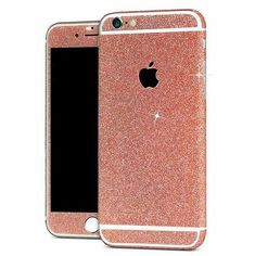Glitter Decals are too cute!!  Please be sure to select the correct item for your device ***With Apple Logo cut out*** Super easy to apply and remove Please no