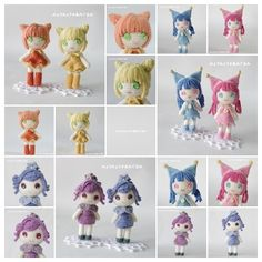 muñecas amigurumis pagina japonesa