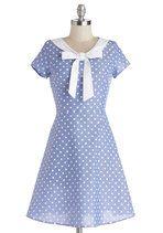 Excellent Rapport Dress | Mod Retro Vintage Dresses | ModCloth.com.   Cute, too short though.
