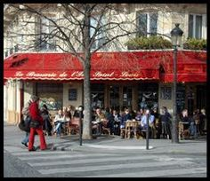 Miss France.  Miss sitting outside of brasseries like this one and people watching.  Miss the cafe au laits in the morning.