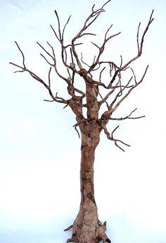 paper mache trees | nature spirits/tree goddesses | figurative paper